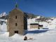Santuario e Rifugio Miserin con la neve